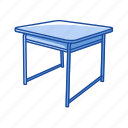 business, desk, education, furniture, office, school table, table