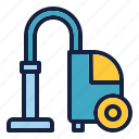 clean, cleaning, cleanliness, hygiene, vacum cleaner icon