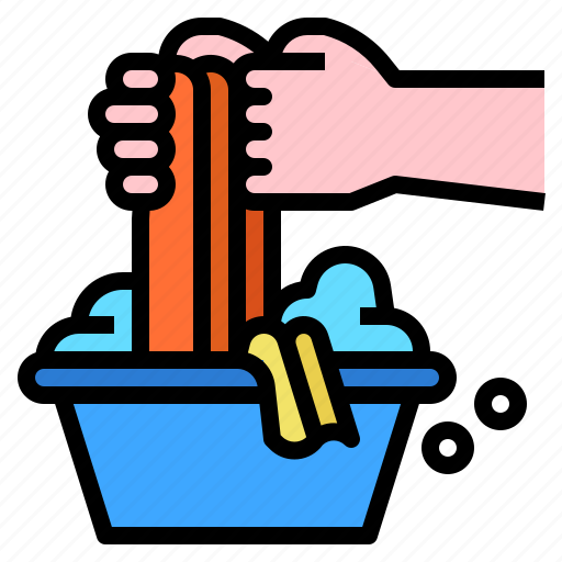 cleaning, clothes, housekeeping, washing icon