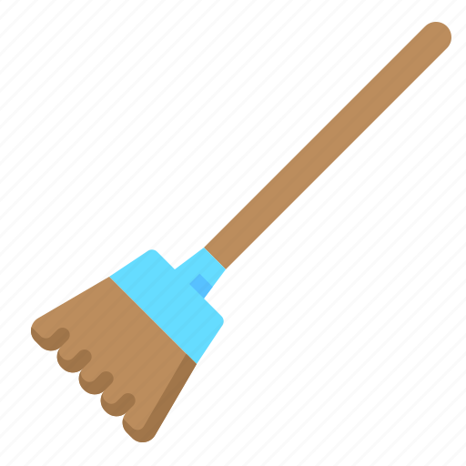 broom, clean, cleaning, sweeping icon