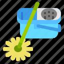 bucket, clean, cleaning, housekeeper, mop