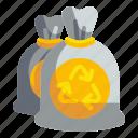 bag, bin, garbage, plastic, rubbish, trash, waste