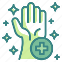 cleaning, gloves, hand, hygiene, sanitary, soap, wash icon