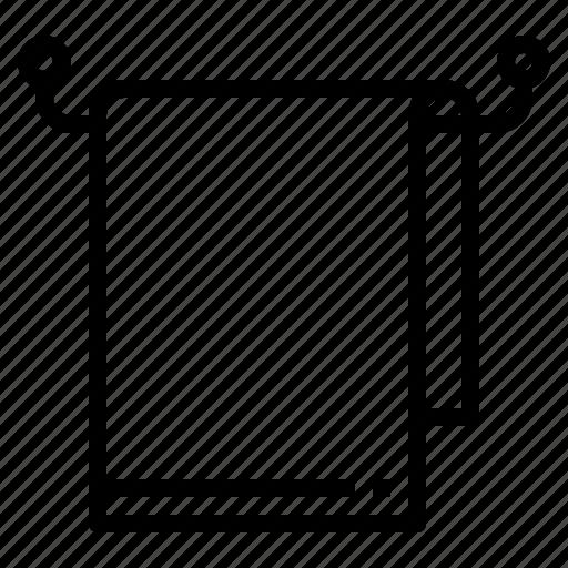 interior, towel icon