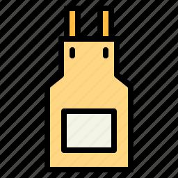 apron, cloth, kitchen, protection icon