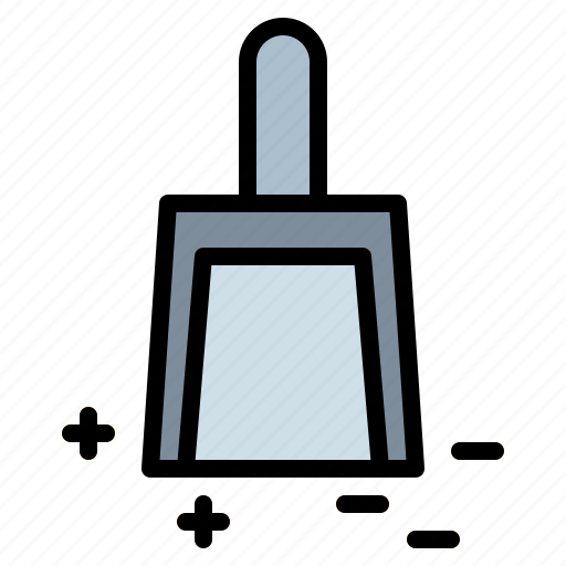 clean, cleaning, dustpan, wiping icon