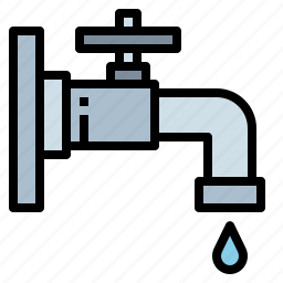 faucet, tap, water icon