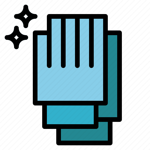 equipment, gloves, latex, protection icon