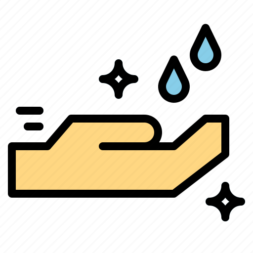 cleaning, wash, washing, waterdrops icon