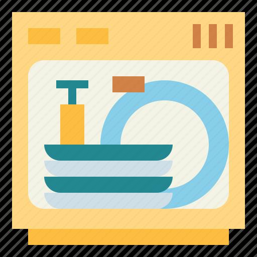 dishwasher, dishwashing, kitchen, machine, washer icon