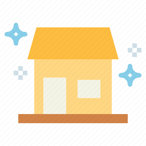 building, cleaning, home, house icon