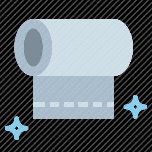 paper, roll, tissue, toilet icon
