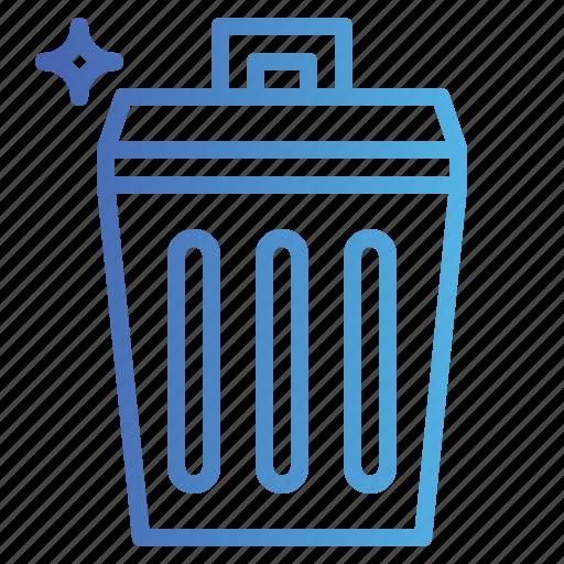 bin, garbage, recycle, trash icon