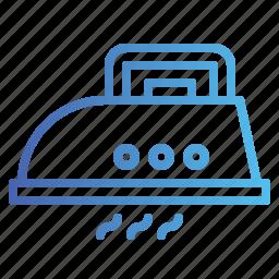 housework, iron, ironing, laundry icon