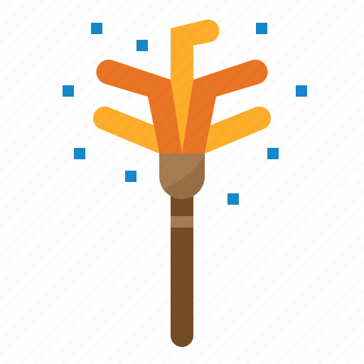 broom, cleaning, duster, housekeeping icon