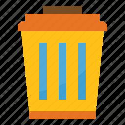 can, garbage, metallic, recycle, trash icon