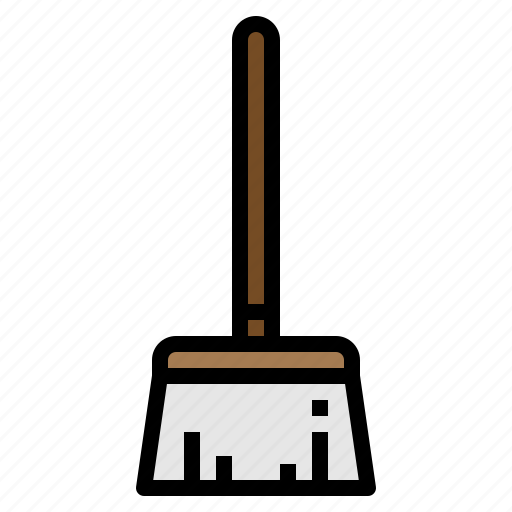 broom, brush, cleaning, mop, sweep icon