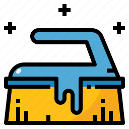 brush, clean, cleaning, wash, washing icon