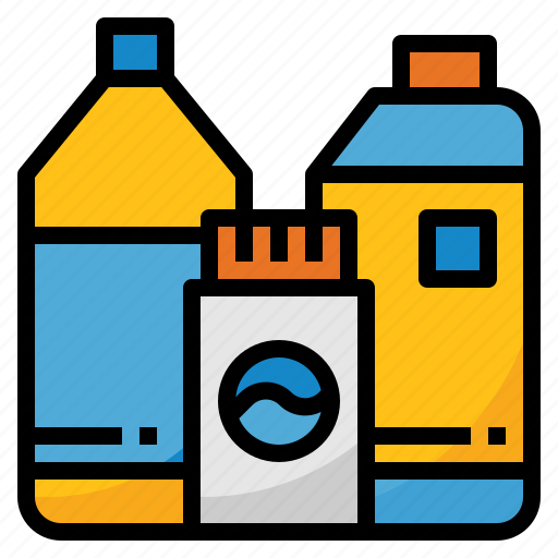 bleach, chemical, cleaning, detergent, disinfectant icon