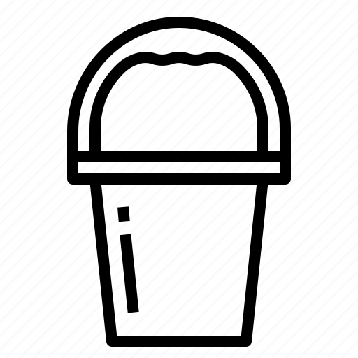 Bucket, cleaning, housekeeping icon - Download on Iconfinder