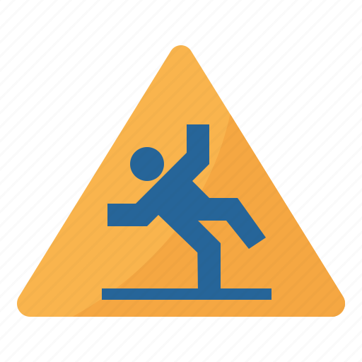 Cleaning, floor, sign, warning, wet icon - Download on Iconfinder