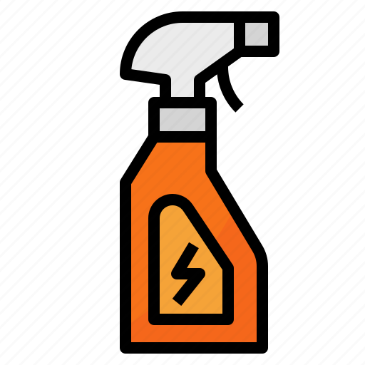 Clean, cleaning, housekeeping, spray icon - Download on Iconfinder