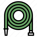 farming, gardening, hose, nature, watering icon