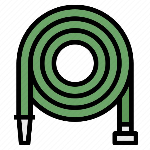Farming, gardening, hose, nature, watering icon - Download on Iconfinder