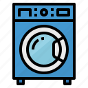 cleaning, laundry, machine, washing icon