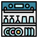 dishwasher, dishwashing, kitchen, machine, washer icon