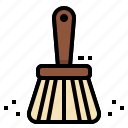 brush, clean, cleaner, cleaning, dust icon
