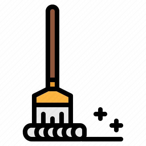bucket, cleaning, housekeeping, miscellaneous, mop icon