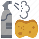 bottle, bottles, clean, cleaning, spray, tool, tools icon