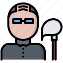 clean, cleaner, cleaning, man, mop, wash icon