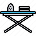 board, clean, cleaner, cleaning, clothes, iron, ironing icon