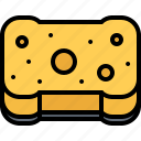 clean, cleaner, cleaning, sponge, wash icon