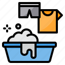 cleaning, equipment, housekeeping, laundry, wash icon