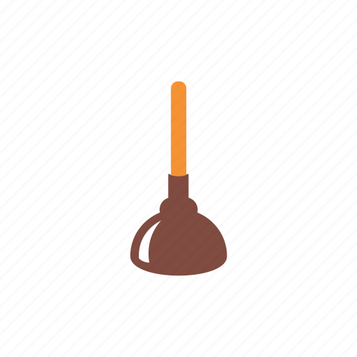 cleaning, cleanup, force cup, home, housework, sanitation, service icon