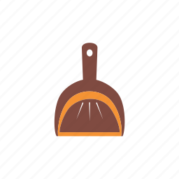 cleaning, garbage, home, housework, sanitation, scoop, service icon