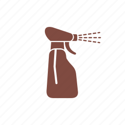 cleaning, home, housework, sanitation, service, squirt bottle, washing icon