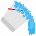liquid spilling, spilling water, water bucket, water spill, water splash icon