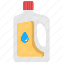 clothing care, detergent bottle, dishwashing liquid, laundry wash, liquid soap icon