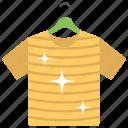 clean laundry, hanged, hanging laundry, hanging shirt, kids shirt icon