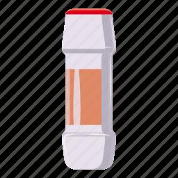 bottle, cartoon, container, detergent, hygiene, laundry, powder icon