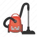 cartoon, clean, cleaner, electrical, equipment, home, vacuum icon