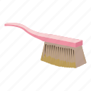 brush, cartoon, cloth, handle, housework, tool, work icon