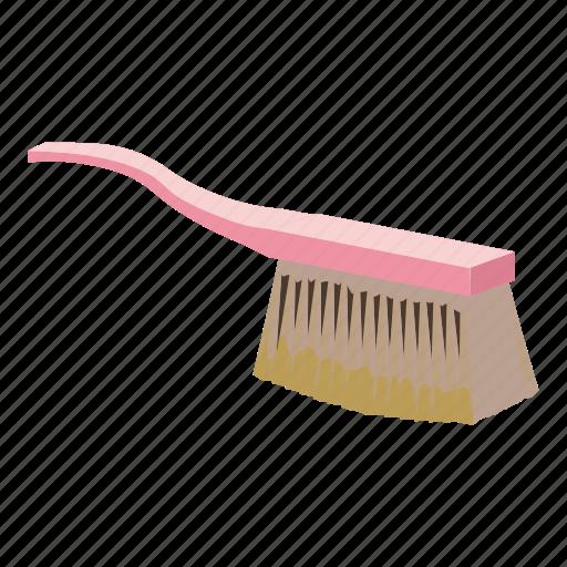 brush, cartoon, cloth, handle, housework, tool, work icon