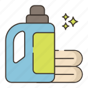 agent, bleach, cleaning icon