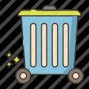 bin, garbage, trash