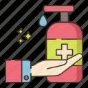 gel, hand, wash